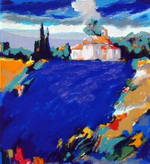 Les Couleurs de Provence chez Chapelle Ferreole