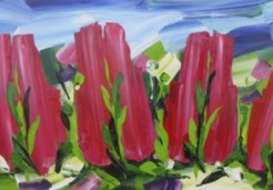 Ad Hassel | Tulpen (Roze)