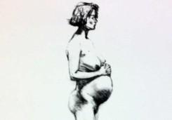 Peter Klashorst | Zwangere vrouw