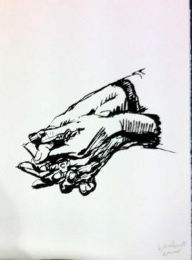 Peter Klashorst | Handen