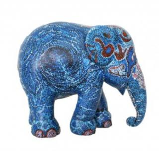 Elephant Parade  | Blue Water 10cm