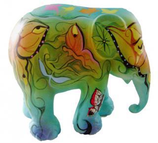Elephant Parade  | Butterfly Elephant 10cm