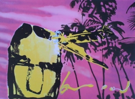 Herman Brood | Pink Palm Indian
